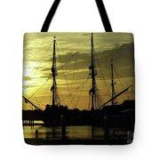 El Galeon Sunrise Tote Bag