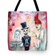 El Matrimonio Tote Bag by Heather Calderon