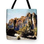 El Morro Cliffs Tote Bag