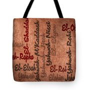 El-olam Tote Bag