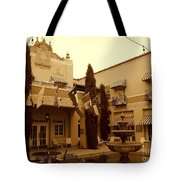El Paisano Hotel In Marfa Texas Tote Bag