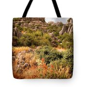 El Torcal Rock Formations Tote Bag