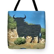 El Toro In The Andalucian Countryside Tote Bag