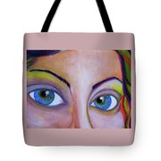Ela - Face Tote Bag