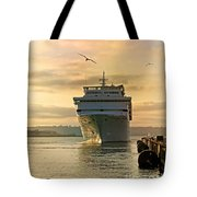 Elation - Leaving For A Cruise Tote Bag