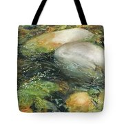 Elbow River Rocks 2 Tote Bag