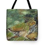 Elbow River Rocks 3 Tote Bag