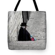 Elderly Beggar In Chordeleg Tote Bag