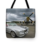 Eleanor Mustang With P51 Tote Bag