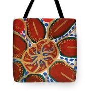 Elec Flower Tote Bag