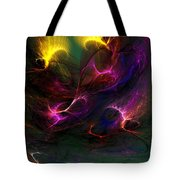 Electric Abstract 052510 Tote Bag