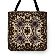 Electric Blue Earth Stars Tote Bag