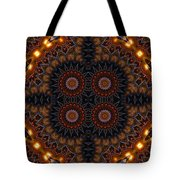 Electric Blue Midway Tote Bag