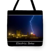 Electric Brew Poster Tote Bag
