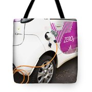 Electric Car Tote Bag