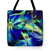 Electric Cellophane Tote Bag