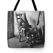 Electric Chair, 1908 Tote Bag