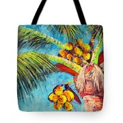 Electric Coconuts IIi Tote Bag