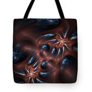 Electric Crabs Tote Bag