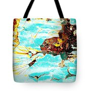Sparky The Electric Dog Tote Bag