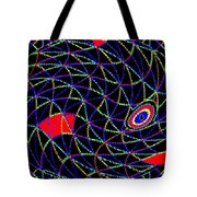 Electric Fish Tote Bag
