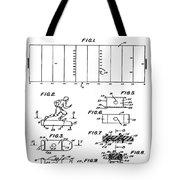 Electric Football Patent 1955 Tote Bag