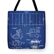Electric Football Patent 1955 Blueprint Tote Bag