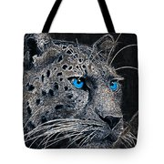 Electric Leopard Tote Bag