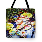 Electric Lillypads Tote Bag