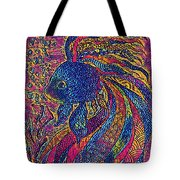 Electric Little Fish Tote Bag