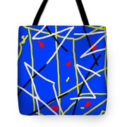 Electric Midnight Tote Bag by Paulo Guimaraes