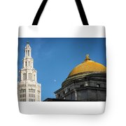 Electric Moon Gold  Tote Bag