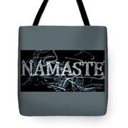 Electric Namaste Tote Bag