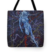 Electric Pain Tote Bag