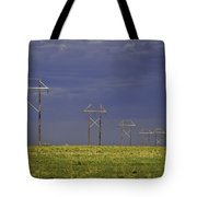 Electric Pasture Tote Bag by Melany Sarafis
