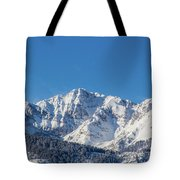 Electric Peak Tote Bag