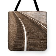 Electric Rails Tote Bag