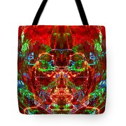 Electric Red Tote Bag