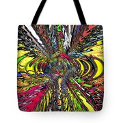 Electric Ripples Tote Bag