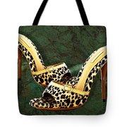 Electric Slide In Leopard Tote Bag