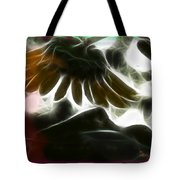Electric Sunflower Tote Bag