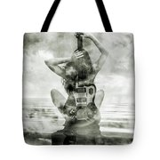 Electric Sunset 3 Tote Bag