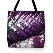 Electric Violet Fish Tote Bag