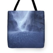 Electric Water - Milford Sound Tote Bag