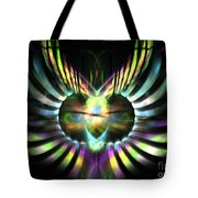 Electric Wings Tote Bag