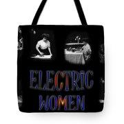 Electric Women Tote Bag