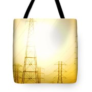 Electricity Towers Tote Bag