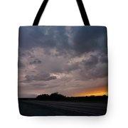 Electrified Skies Tote Bag