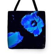 Electrifying Blue Beauty Tote Bag