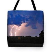 Electrifying Southern Davidson County Tote Bag